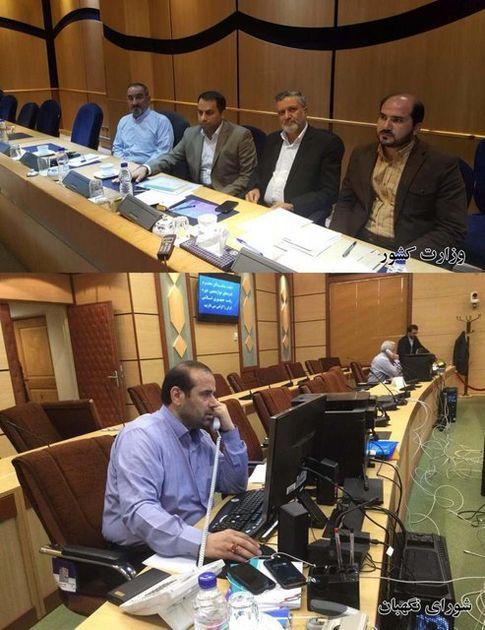 نمایندگان روحانی و رئیسی در شورای نگهبان و وزارت کشور