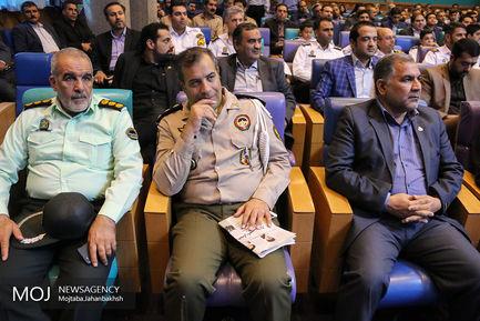 تجلیل از راکبان موتورسیکلت در اتاق بازرگانی اصفهان