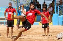 شکست تیم ملی هندبال ساحلی ایران مقابل قطر