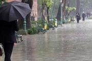بارندگی شدید در راه نیمه غربی کشور