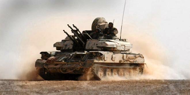 نیروهای ارتش سوریه داعش را در دیرالزور تار و مار کردند