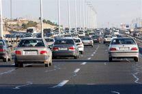 ترافیک نیمهسنگین در آزادراههای استان قزوین
