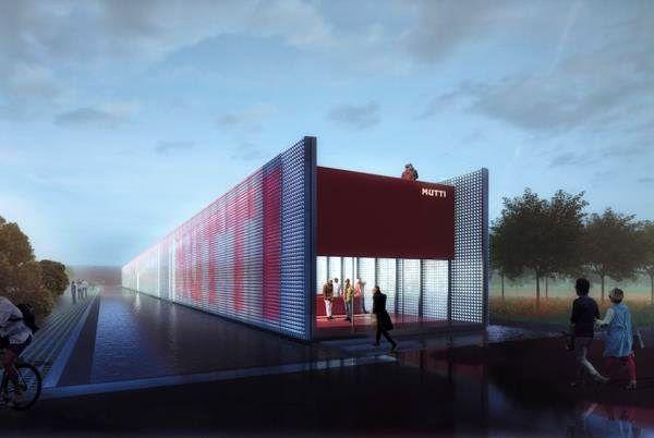ساخت کارخانه ای با دیوارهایی از شیشه رب گوجه فرنگی
