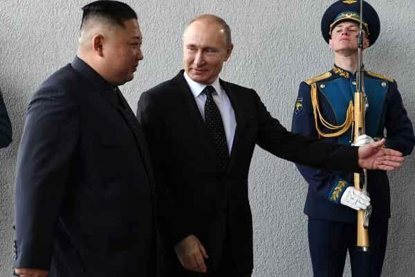 پوتین و رهبر کره شمالی دیدار کردند