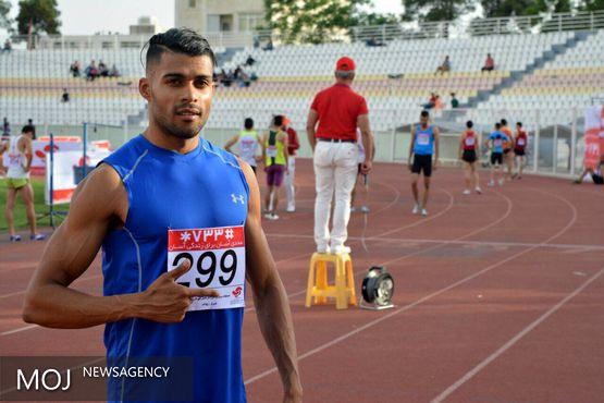 خدیور در دوی ۲۰۰ متر قهرمان شد
