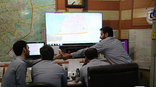 92 عملیات امداد و نجات و اطفای آتش سوزی ها توسط آتش نشانان رشت