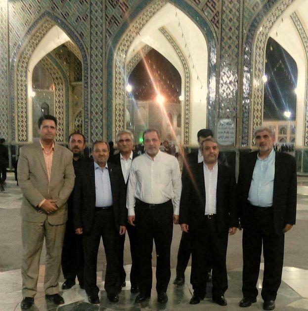 وزیر آموزش و پرورش وارد مشهد شد