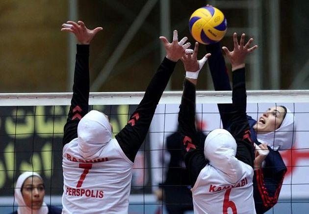 دختران والیبالیست ایران برابر چین تایپه مغلوب شدند