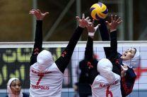 پیروزی ذوب آهن در آغاز دور برگشت والیبال بانوان