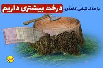 تلفات برق در البرز کاهش یافته است/نجات جان 320 درخت با حذف قبوض کاغذی
