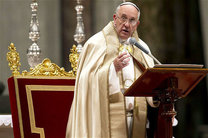 پاپ حملات تروریستی تهران را محکوم کرد