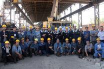 انجام موفقیت آمیز دو تعمیرات اساسی در جرثقیل های بخش فولادسازی