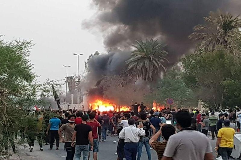 تعداد کشته وزخمی های ناآرامیهای بصره به 205 نفر رسید