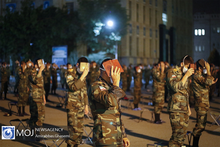 احیای شب بیست و یکم ماه مبارک رمضان در دانشگاه افسری امام علی (ع)