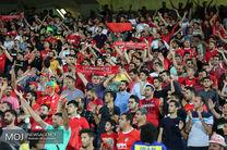 بلیت فروشی بازی پرسپولیس و الدحیل در ورزشگاه/ 73 درصد بلیت الکترونیکی به فروش رسید