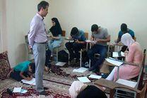 """امتحانات سراسری """"تابستان ٩٦"""" انجمن خوشنویسان رودسر برگزار شد"""