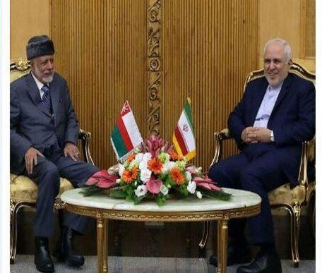 وزیر امور خارجه عمان با ظریف دیدار کرد