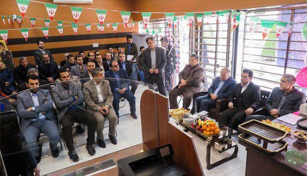شعبه بانک رفاه کارگران در منطقه آزاد انزلی افتتاح شد