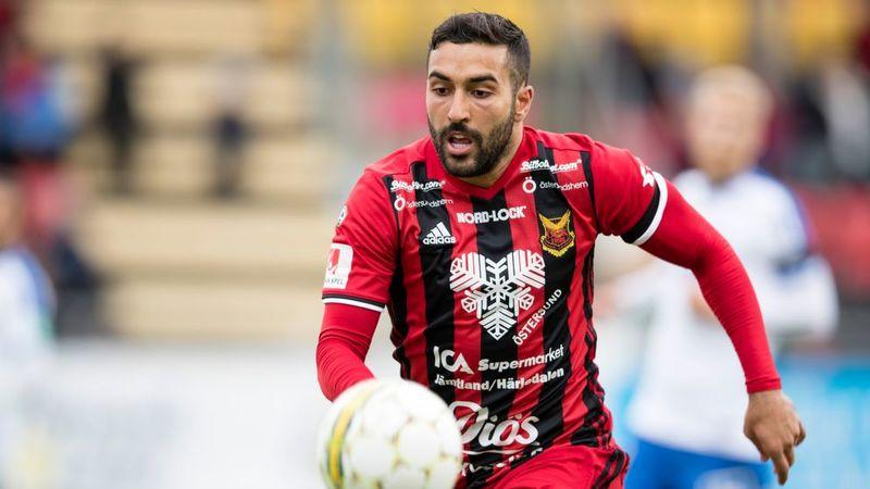 سامان قدوس از تیم اوسترشوندس سوئد جدا شد