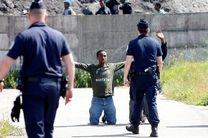 انتقاد دیدهبان حقوق بشر از برخورد پلیس فرانسه با پناهجویان در کمپ کاله