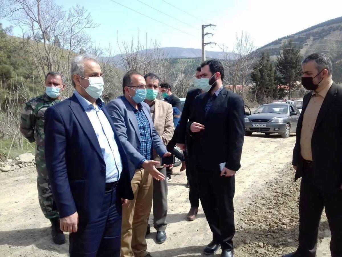بازدید سرزده دادستان مرکز مازندران از چالوس و مرزن آباد