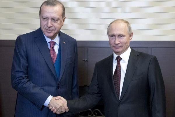 پوتین به اردوغان تبریک گفت