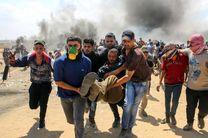 درگیری نظامیان رژیم صهیونیستی با فلسطینیان