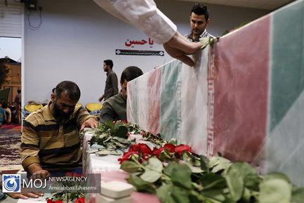 وداع با ماه مبارک رمضان در جوار شهدا