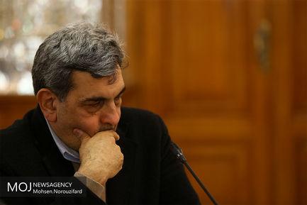 دیدار شهرداران کلانشهرها با علی لاریجانی/ حناچی