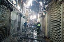 آتش سوزی بزرگ این بار در شورآباد تهران