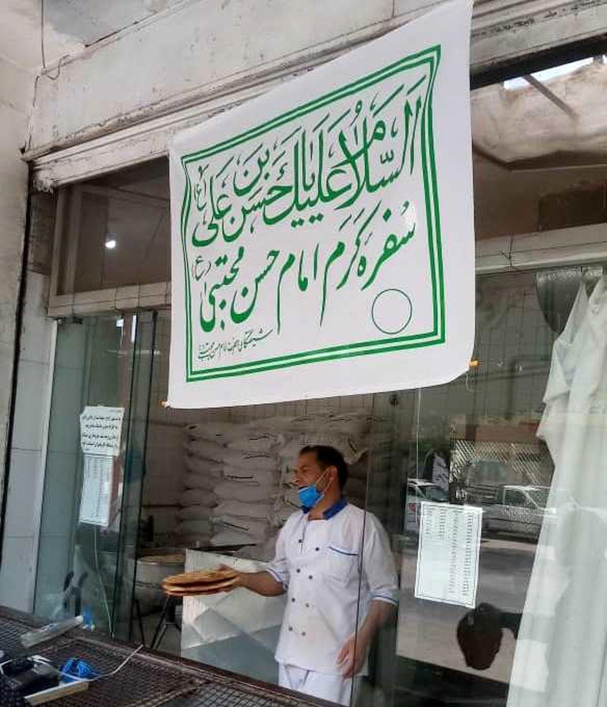 توزیع 100 هزار قرص نان به همت اتاق اصناف شهرستان خمینی شهر