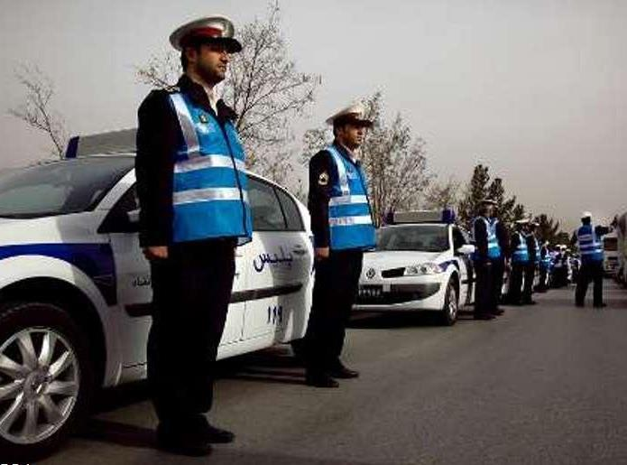 """اجرای طرح """" آرامش"""" در پلیس اصفهان در ایام نوروز"""
