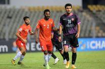 نتیجه بازی گوا هند و پرسپولیس در نیمه نخست