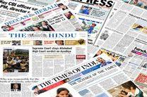 مهمترین عناوین روزنامه های امروز چهارشنبه هند