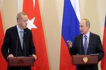 رایزنی تلفنی روسای جمهور ترکیه و روسیه در مورد سوریه