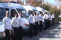 امدادرسانی اورژانس پیشبیمارستانی استان اصفهان به ۳۴۷زائر کربلا