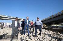 بازدید شهردار و رییس شورای شهر تهران از پروژه های تونل آرش