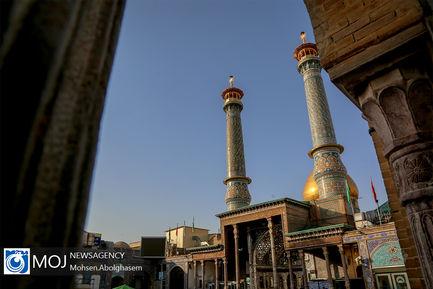 بازگشایی محدود صحن های حرم مطهر حضرت عبدالعظـیم (ع)