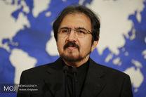 موضوع گفتگو ظریف و موگرینی برجام است و به حوادث اخیر ایران ارتباطی ندارد