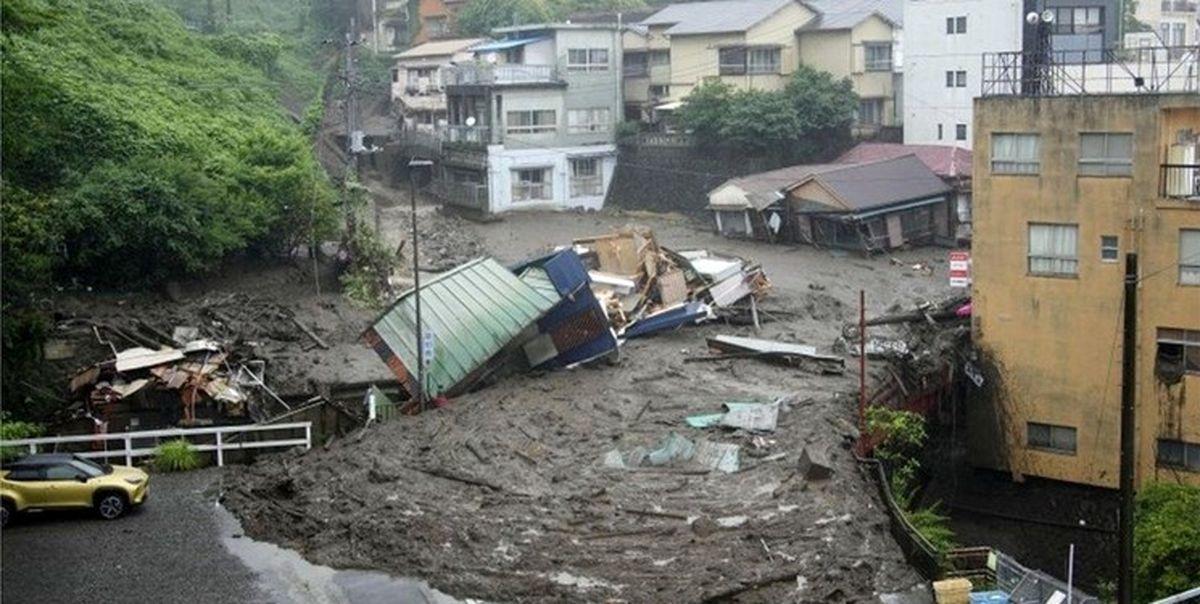 رانش زمین در ژاپن دو کشته برجای گذاشت
