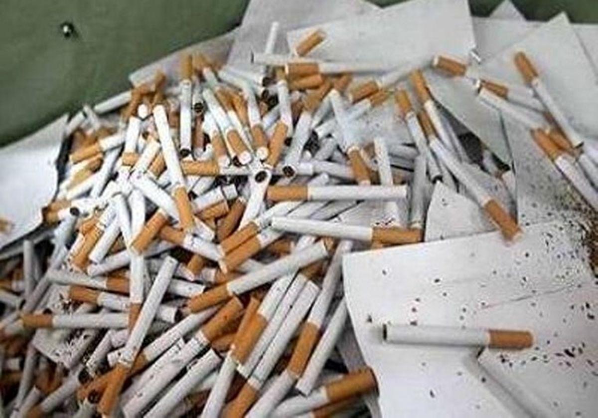 کشف بیش از 9 هزار نخ سیگار قاچاق از یک منزل در  کاشان