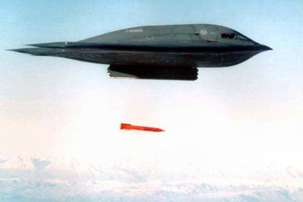 آمریکا بمب اتمی سنگرشکن آزمایش کرد