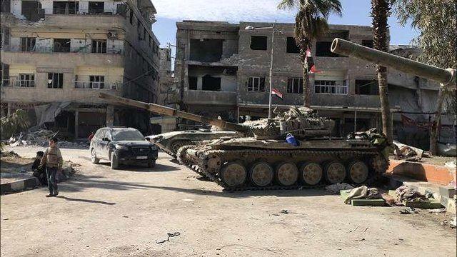 غوطه شرقی و دوما به کنترل ارتش سوریه درآمد
