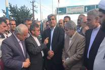 بازدید رئیس سازمان برنامه و بودجه از مناطق سیل زده /عزم دولت برای رفع آسیب دیدگی های اخیر