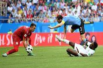 نتیجه بازی اروگوئه و عربستان در جام جهانی/ صعود قطعی اروگوئه
