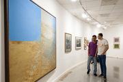 خانه هنرمندان ایران آثار منیژه میرعمادی به نمایش گذاشته است