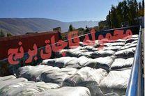 20 هزار تن برنج قاچاق در شوش کشف شد