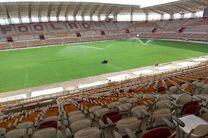 افتتاح ورزشگاه فولاد آرنا با حضور اسحاق جهانگیری