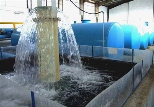 ظرفیت تولید آب لوندویل آستارا 15 لیتر بر ثانیه افزایش یافت