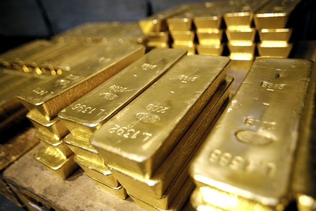 قیمت طلای جهانی  به ۱۳۰۰ دلار نزدیک شد